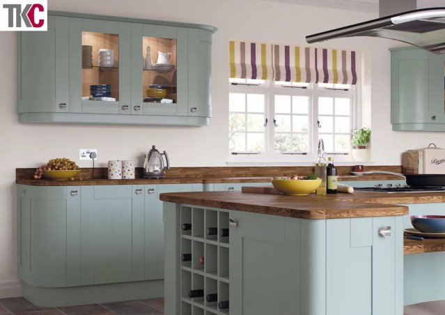 TKC Richmond Hand Painted Fjord Kitchen