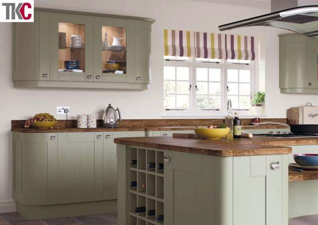 TKC Richmond Hand Painted Olive Kitchen