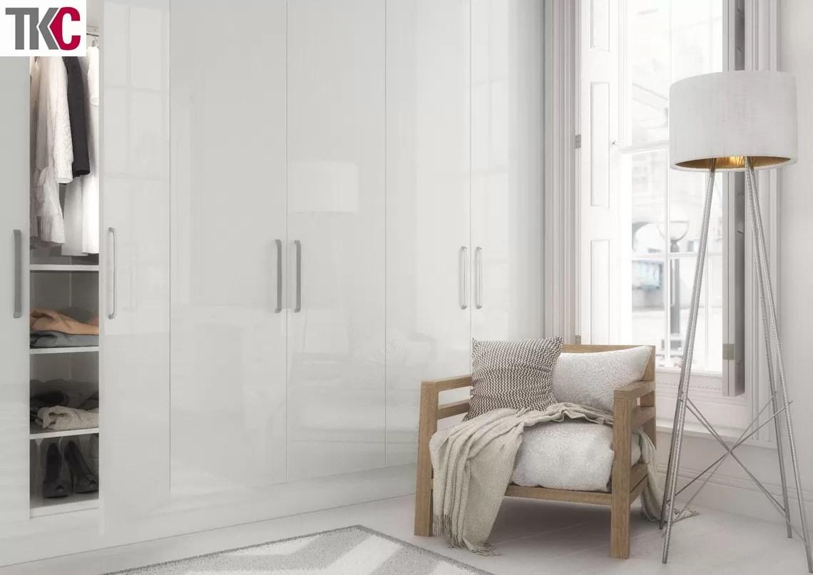 TKC Vivo Grey Bedroom