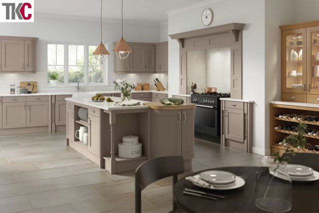TKC Windsor Stone Grey Kitchen