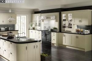 Trademouldings Gresham Vanilla Kitchen