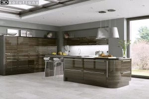 Trademouldings Odyssey Mira Cosa Gloss Kitchen