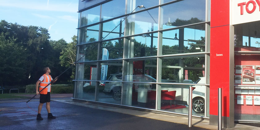 Water Fed Pole Commercial Window Cleaning Fareham