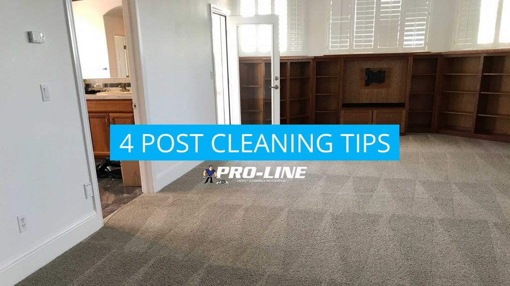 4 Post Carpet Cleaning Tip
