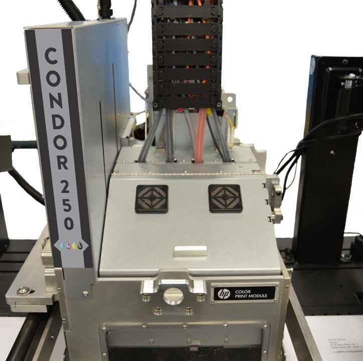 condor 250 printer color envelope printing
