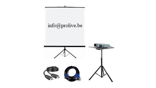 Kit vidéo «pro» : 89 € TTC