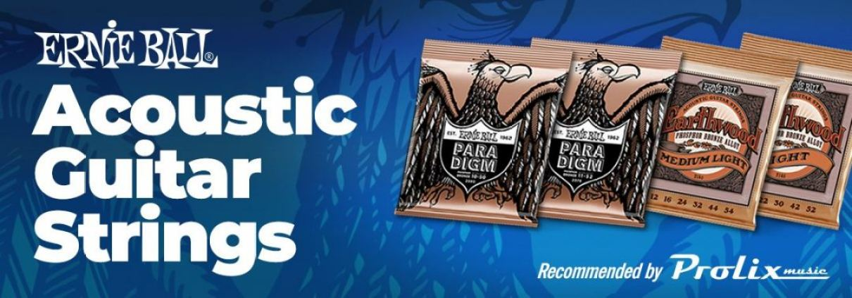 Acoustic Guitar strings recommended by Prolix Music