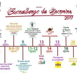 Buonalbergo da Scoprire eventi 2017