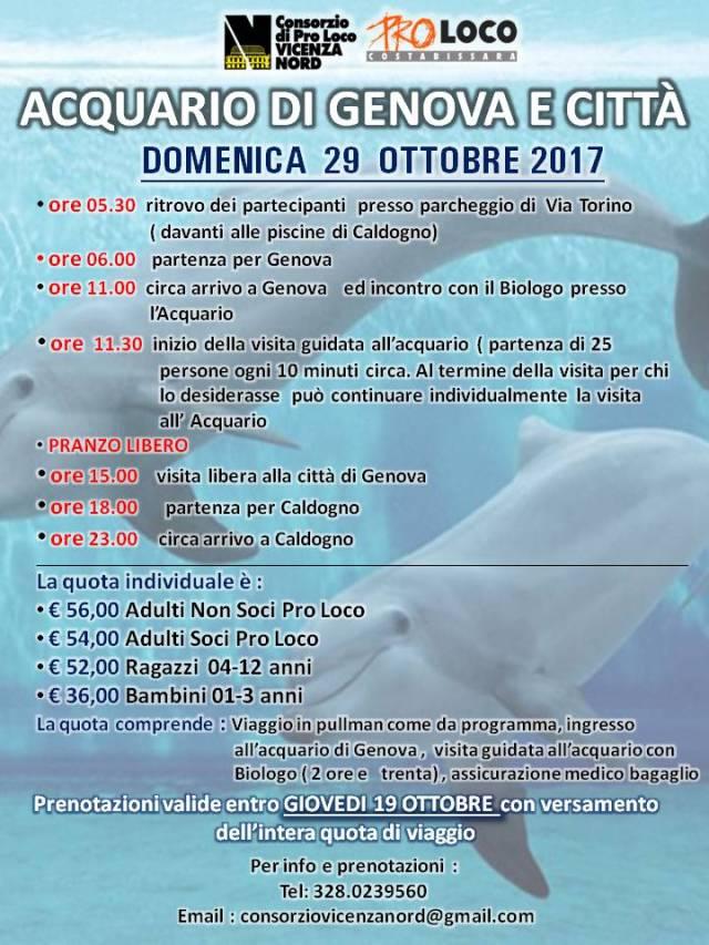Gita acquario di Genova e città