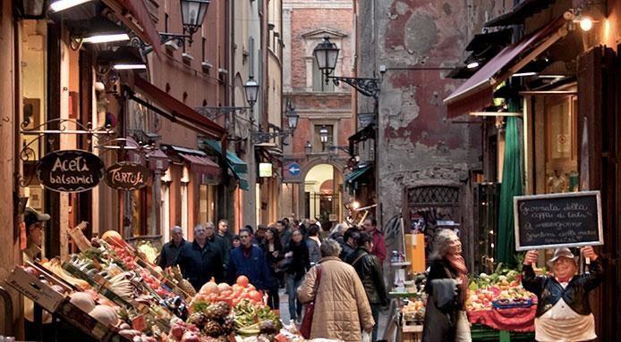 Risultati immagini per mercato antico bologna