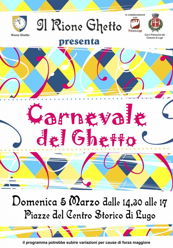 manifesto Carnevale del ghetto 2017
