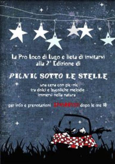 picnic sotto le stelle