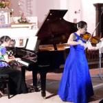 Nobuko Ogasawara (violino) e Yumiko Okabe (pianoforte), 4 agosto 2017