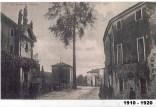 1910-1920 - via Roma con l'albero della libertà