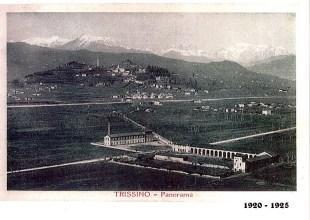 1920-1925 - La filanda Bocchese e la Villa Trissino-DaPorto-Marzotto La Colombara