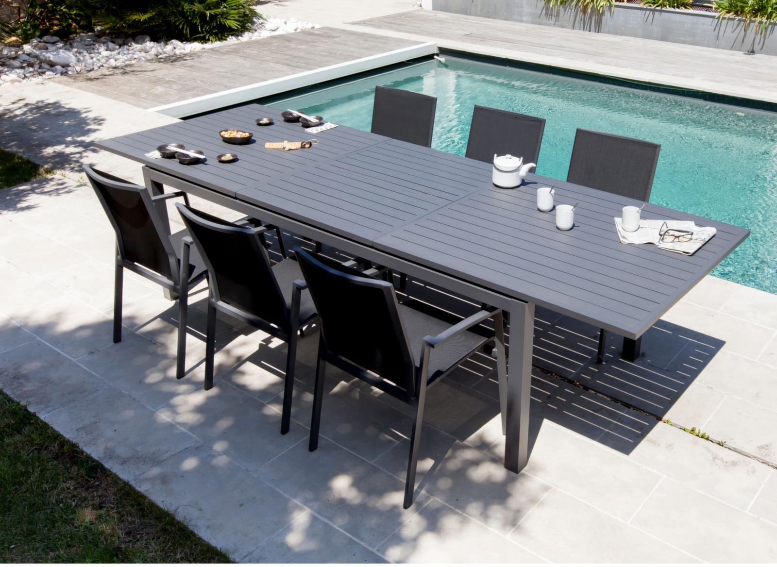 table trieste 200 280 cm