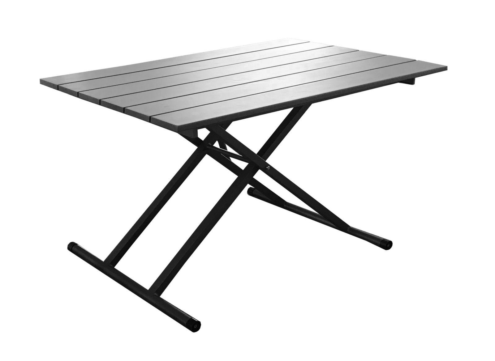 table relevable 120 x 75 cm