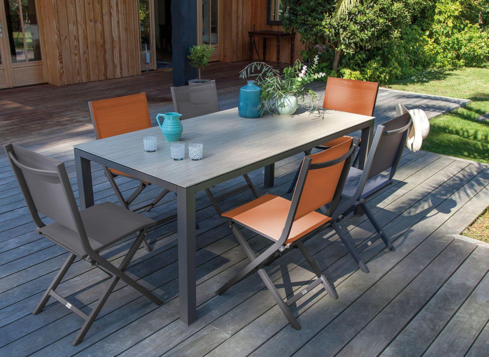 table bavella 180 cm plateau ceramique