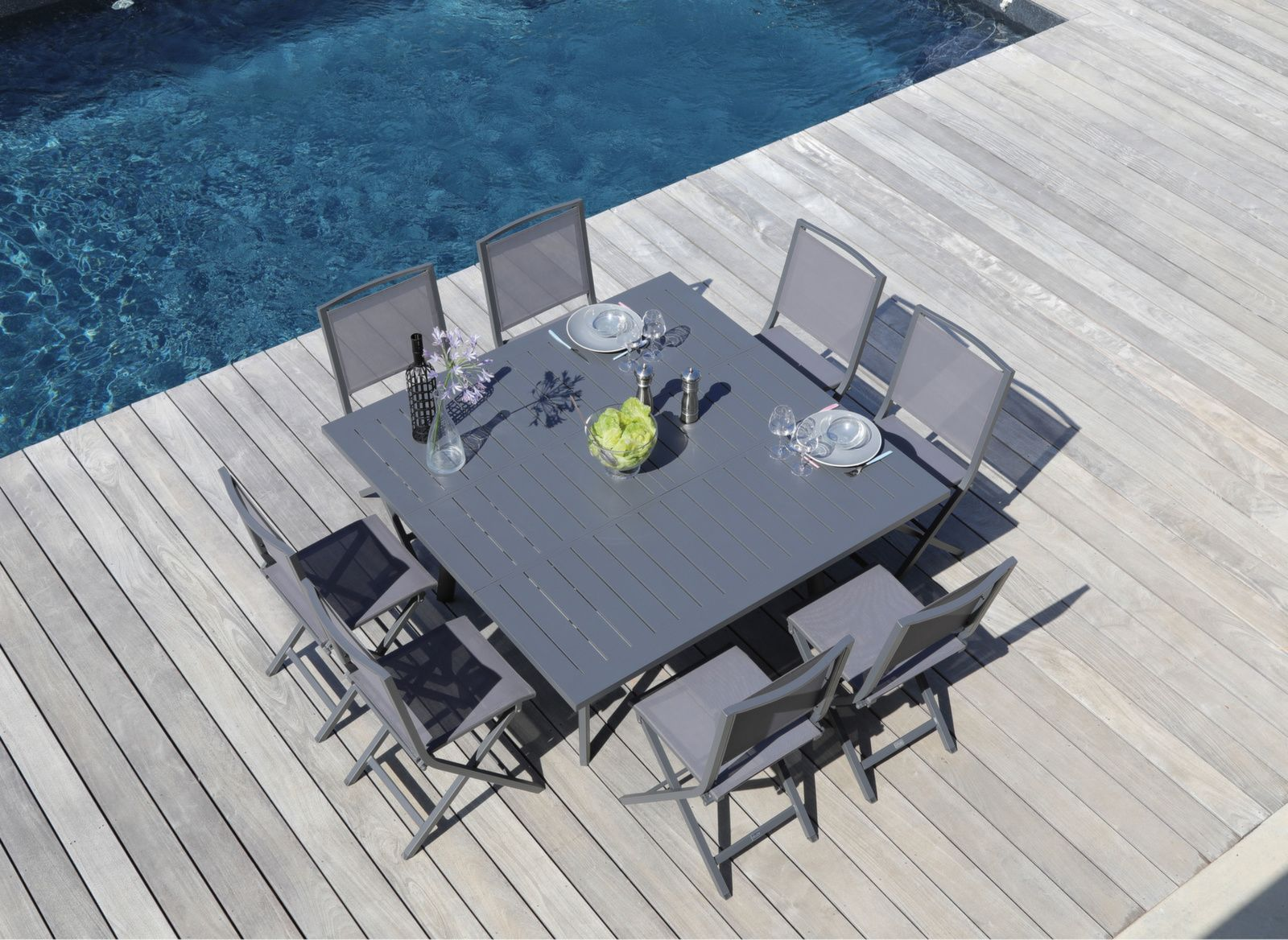 table barcelona 100 145x145 cm