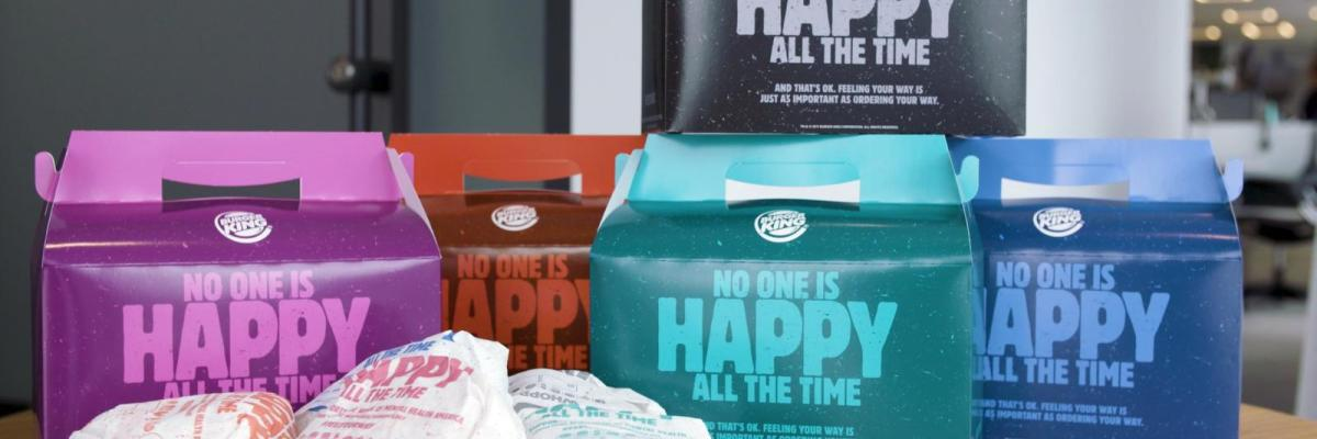 Salute mentale: Burger King lancia i Real Meal