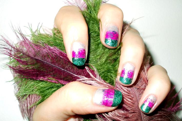 Polish Up Nail Art Challenge – Theme #4 – Glitter