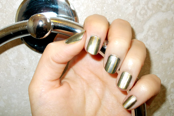 Metallic Nail Art Challenge Theme