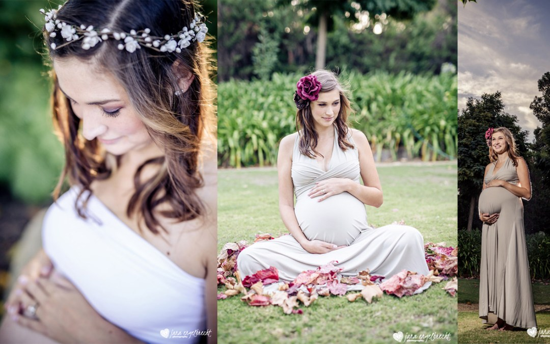 Annerika Botha Maternity Shoot MakeUp Feature