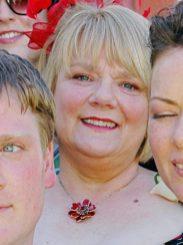 Heather Wedding MakeUp Aunt