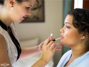 Vania October Wedding MakeUp Lips