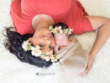 Carlynne NewBorn Shoot MakeUp