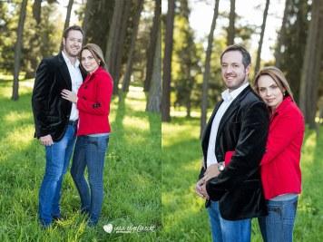 Cindy Engagement Shoot MakeUp Red Jacket