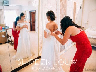 Adeline Wedding MakeUp Dress