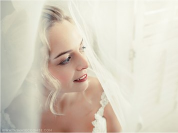 Clarissa Wedding MakeUp Veil