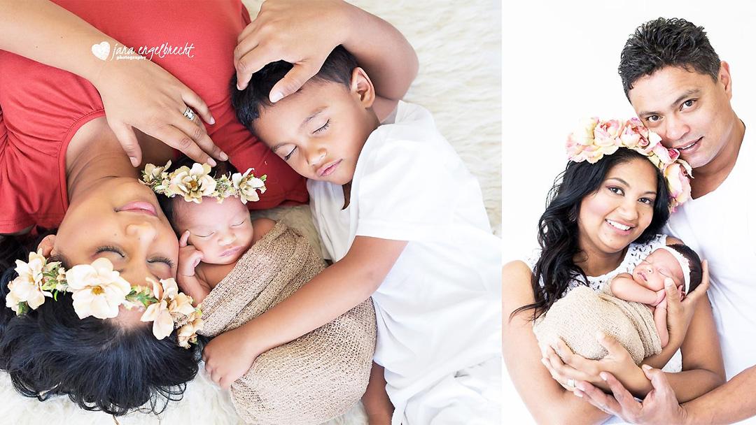 Carlynne Pieters NewBorn Family Shoot MakeUp Feature