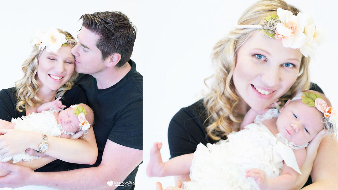 Chanele Fourie | Newborn Shoot | MakeUp | Hair