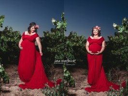 Jalani van Eck Maternity Shoot MakeUp