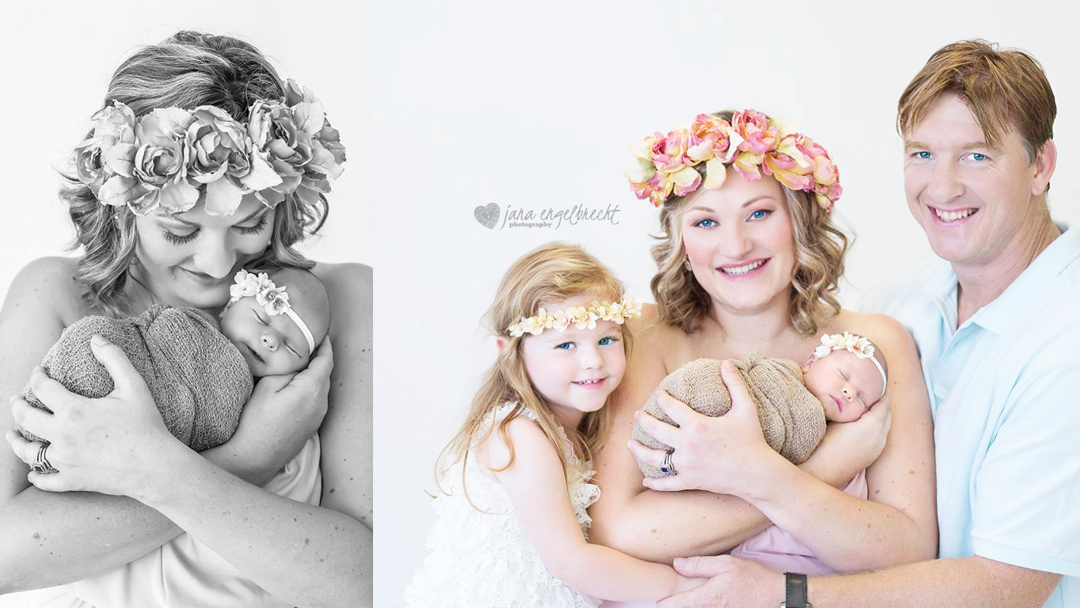 Madali Groenewald Newborn Family Shoot MakeUp Feature