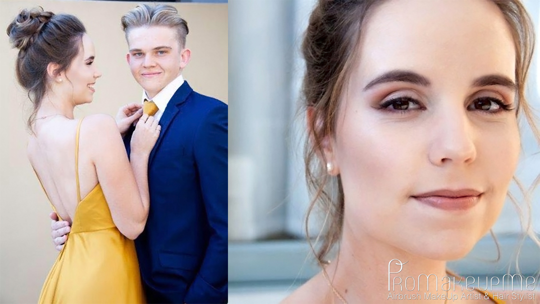 Nina Rossouw | Matric Dance | MakeUp | Hair