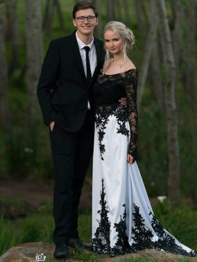 Romayne Matric Ball MakeUp Couple