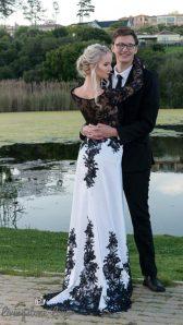 Romayne Matric Farewell MakeUp Dress