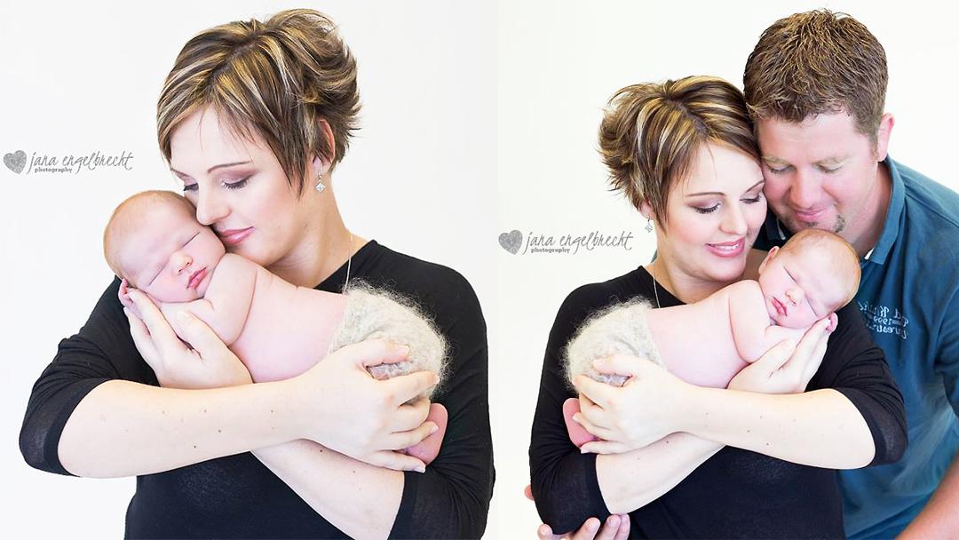 Stephanie Ackerman | Newborn Shoot | MakeUp