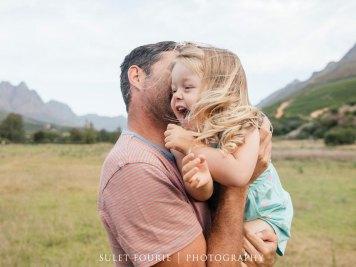 Nadia Family Shoot MakeUp Girl Dad