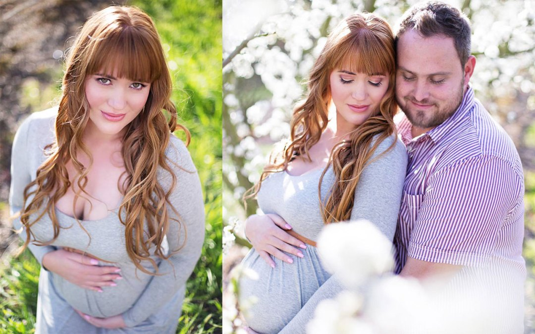 Tanya Britz Maternity Shoot MakeUp Feature