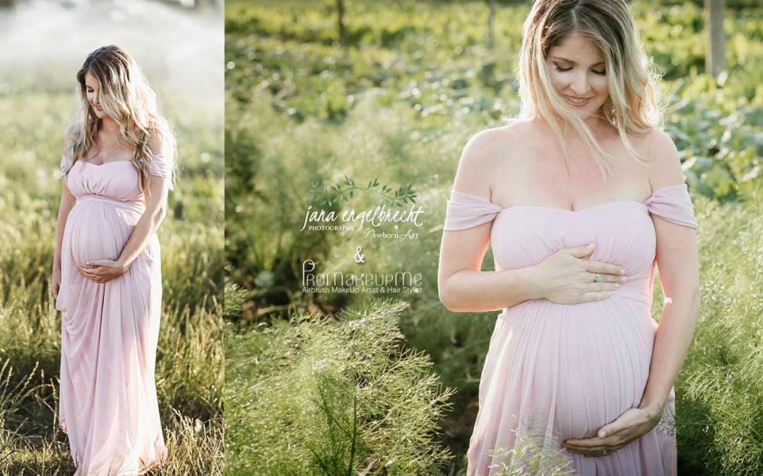 Ronel Rix Maternity Shoot MakeUp | Hair