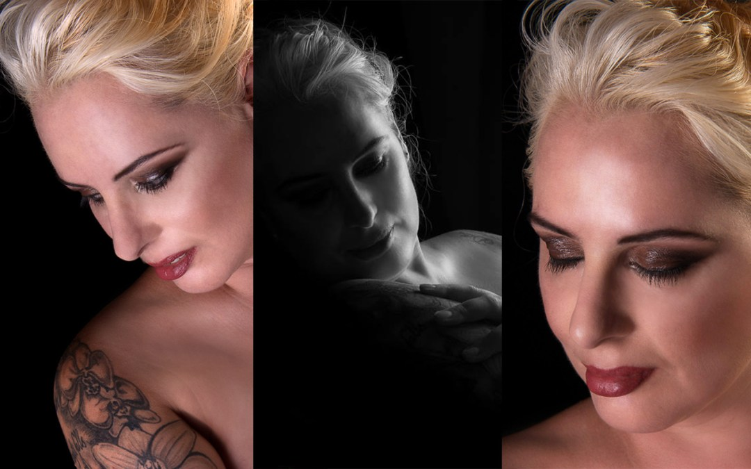 Mandy | Portrait Shoot MakeUp | Hair Styling