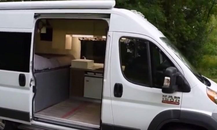 Ram Promaster Camper Van >> 2015 Ram Promaster Van RV Conversion | ProMaster Outpost