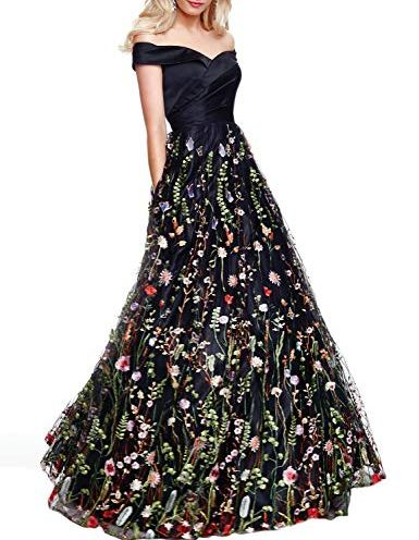 6440272d918 YSMei Womens Long 3D Flower Prom Party Dress Backless Formal Evening Gown  YPM458
