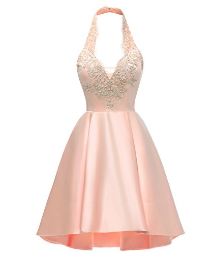 Sarahbridal Juniors Lace Applique Strapless Short Mini Cocktail Homecoming Dresses Sleeveless