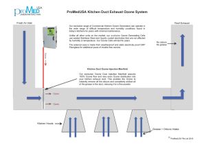Commercial Buildings & Kitchen In Duct Odour Grease and