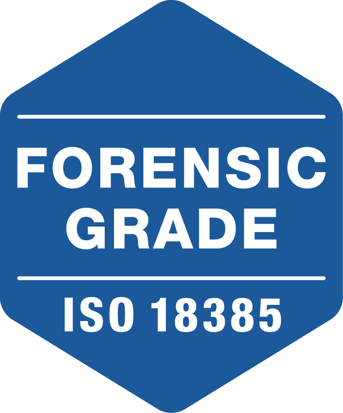 Forensic Grade ISO 18385